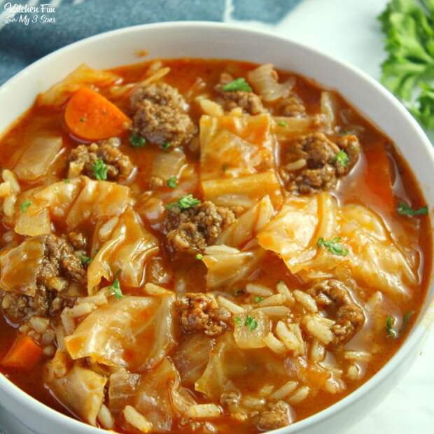 Этот капустный суп — лучший обед для всей семьи!