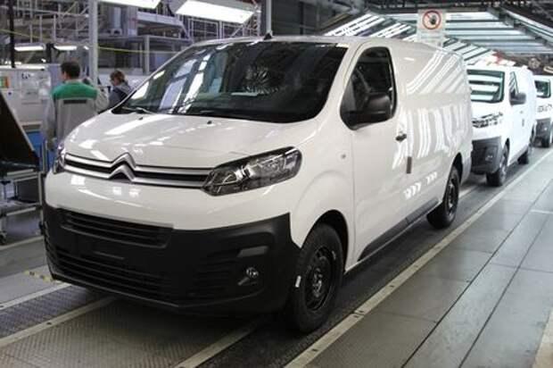 В Калуге стартовало производство коммерческих фургонов Citroën Jumpy и Peugeot Expert