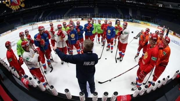 Тренерский штаб сборной РФ по хоккею огласил состав команды на Чешские игры