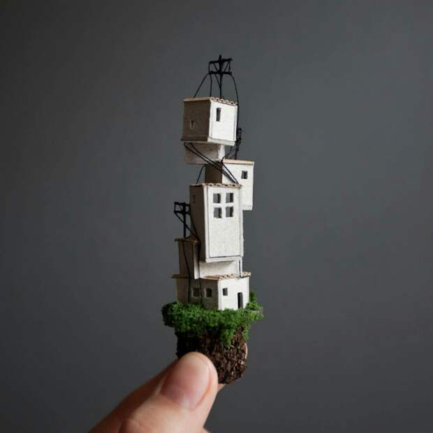 Чудесные домики Rosa de Jong