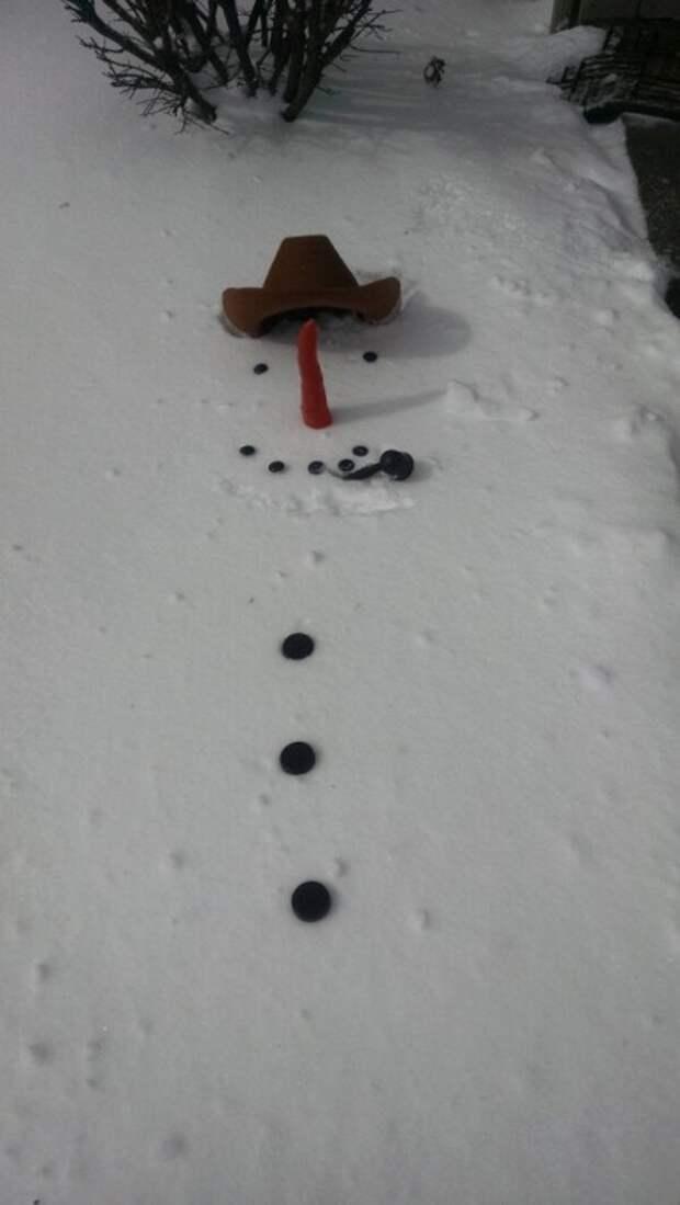 идеи снеговик