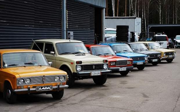 В Финляндии предложили прокат советских автомобилей ВАЗ