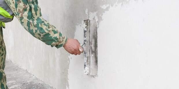 В доме на Хорошевском шоссе,32 проводят ремонт — управа