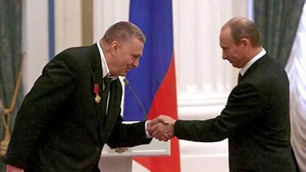 Верховный правитель - для должности президента, наместники и уезды – терминология, которую предлагает ввести В. Жириновский