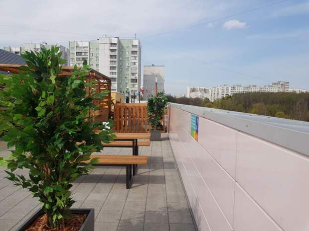 В «Будапеште» на Лескова открылась крыша