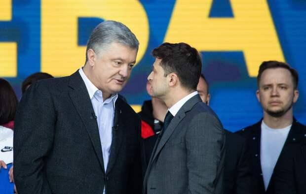 Партия Порошенко требует отЗеленского убраться изпрезидентской резиденции
