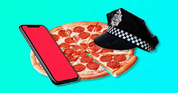 Дочь спасла мать от избиения, заказав пиццу