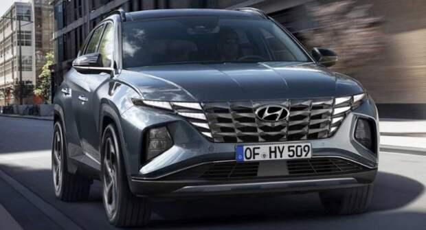 Раскрыта моторная гамма нового кроссовера Hyundai Tucson для России