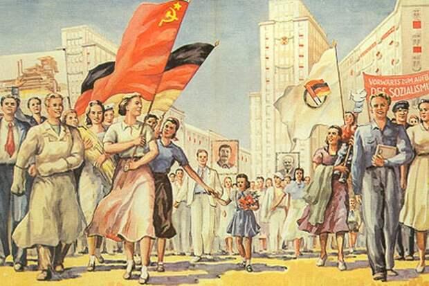 Восточные немцы ставят на дружбу с Россией. MDR, Германия