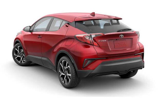 Обновленная Toyota C-HR скоро поступит в продажу