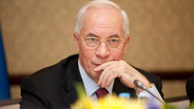 Экс-премьер Украины назвал «пустой акцией» подписание в Киеве меморандума об интеграции в ЕС