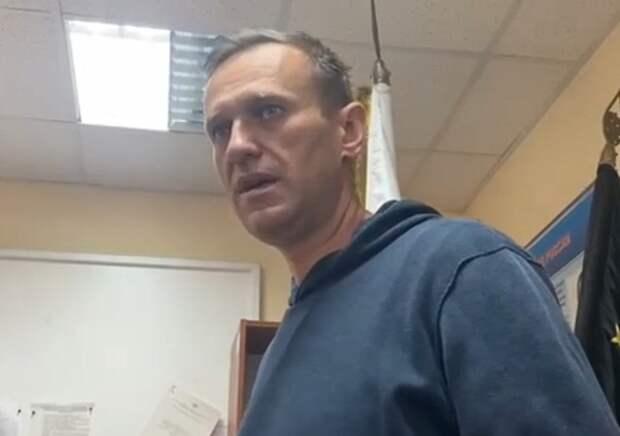Навального арестовали на 30 суток
