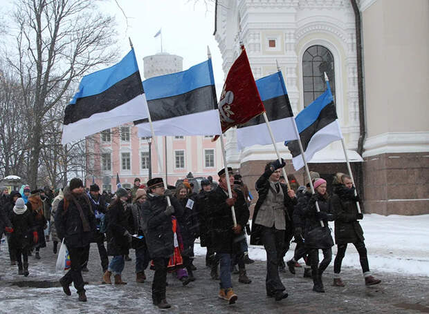 Эстонцы приравняли себя к рабам