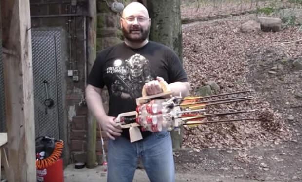 Самодельное оружие, которому позавидуют даже оружейники