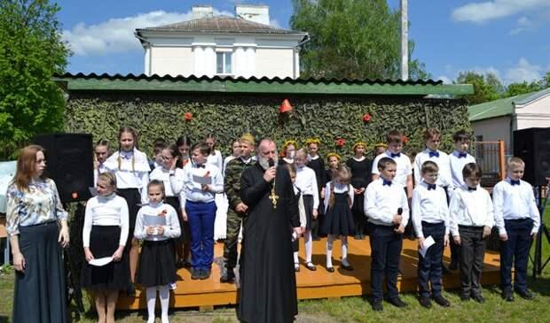 В Георгиевском храме состоялась презентация литературно-музыкальной композиции ´Детство, опаленное войной´.