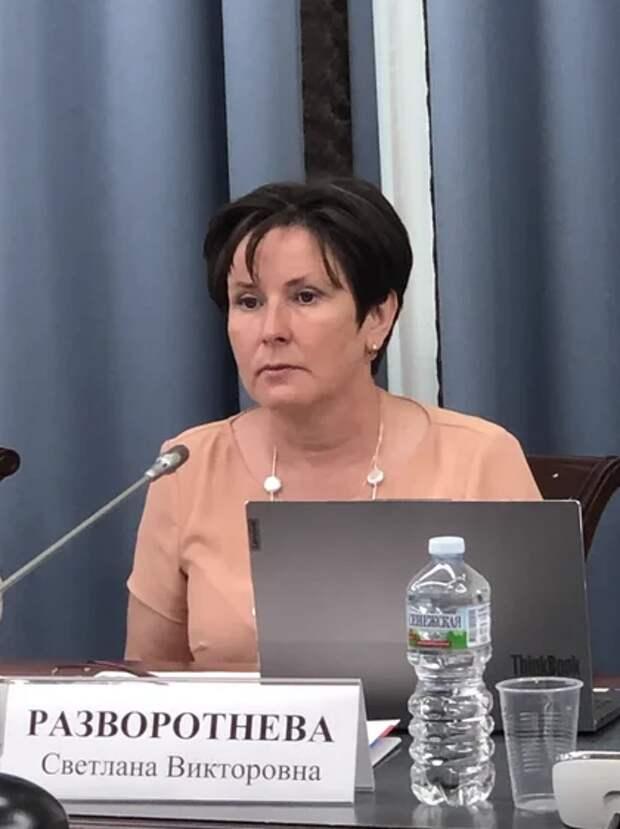 Светлана Разворотнева встала на защиту граждан от произвола застройщиков. Фото: Екатерина Бибикова
