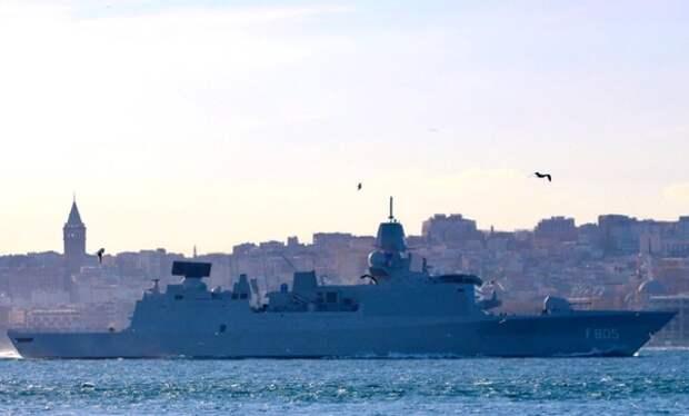 Корабли ВМС России начали сопровождение судов НАТО в Чёрном море