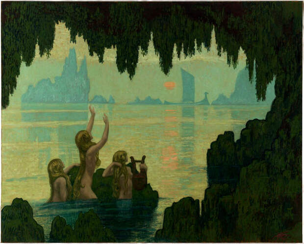 Обнаженная натура в изобразительном искусстве разных стран. Часть 169.
