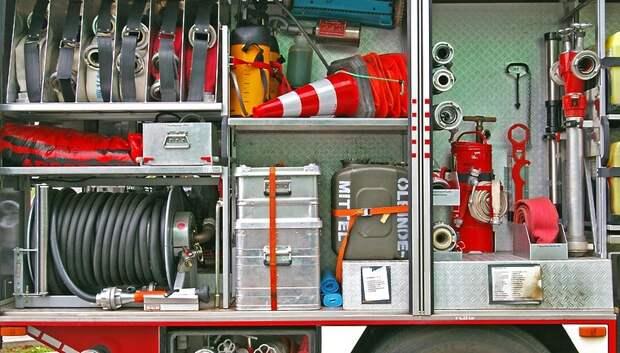 Пожар потушили в частном доме в СНТ Подольска