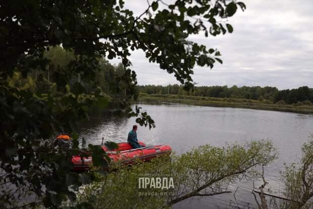 Мужчина спас тонущего ребенка в Городецком районе