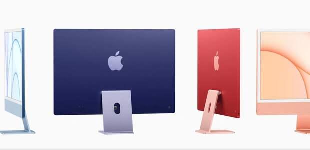 Apple показали новые iMac на собственных процессорах M1 и они… цветные! Экран...