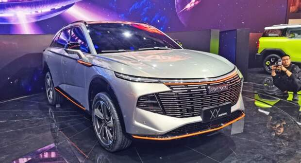 В Шанхае представили обновленный кроссовер третьего поколения Haval H6