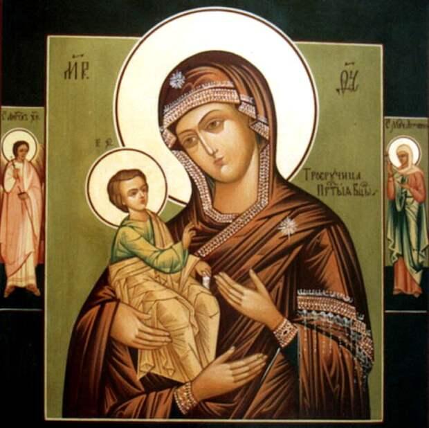 25 июля Празднование иконы «Троеручица».