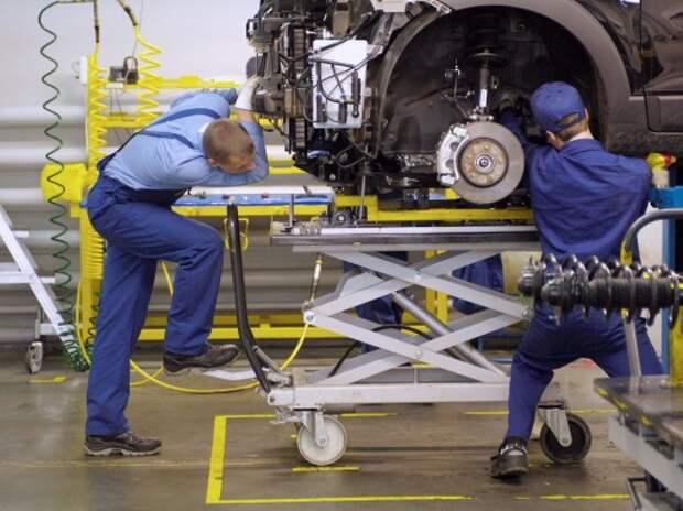 Завод GM в Санкт-Петербурге прекращает работу на два месяца