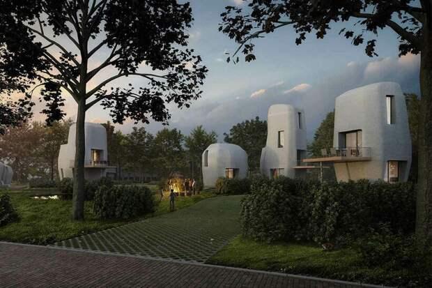 Как в Нидерландах на 3D-принтере напечатали жилой дом