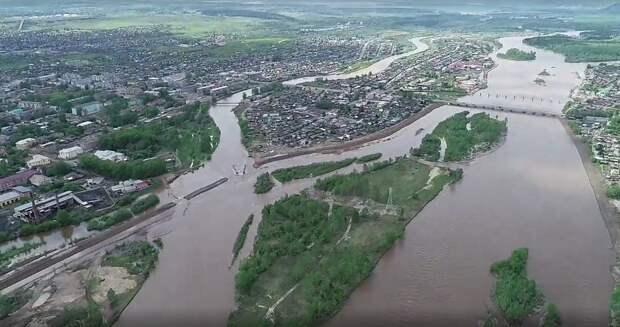 Уровни воды на всех реках Иркутской области на 9 июня ниже критических отметок