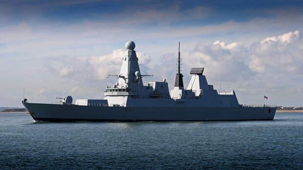 МИД РФ назвал вероятную причину захода кораблей ВМС Великобритании в Черное море