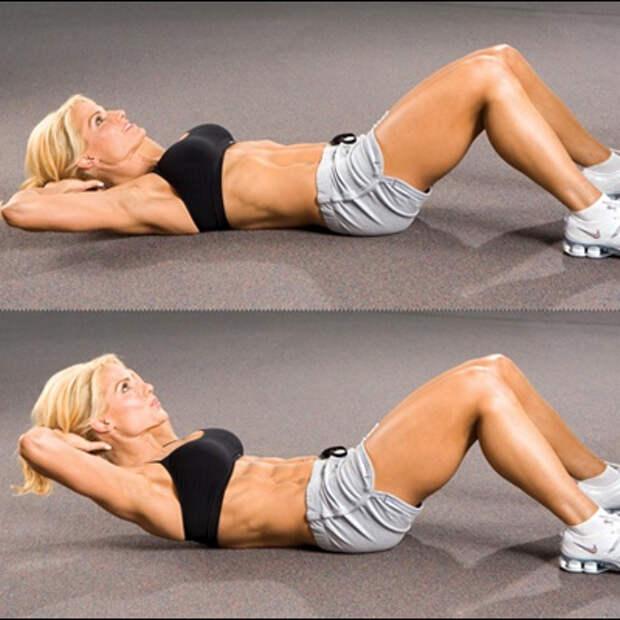 упражнение скручивание1