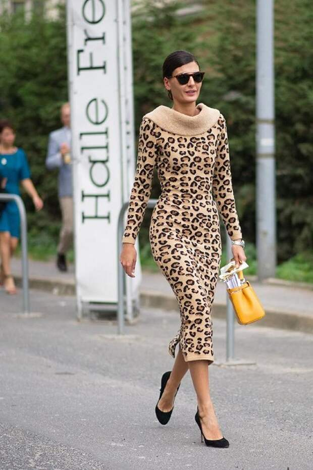 Француженка никогда не наденет платье с леопардовым принтом