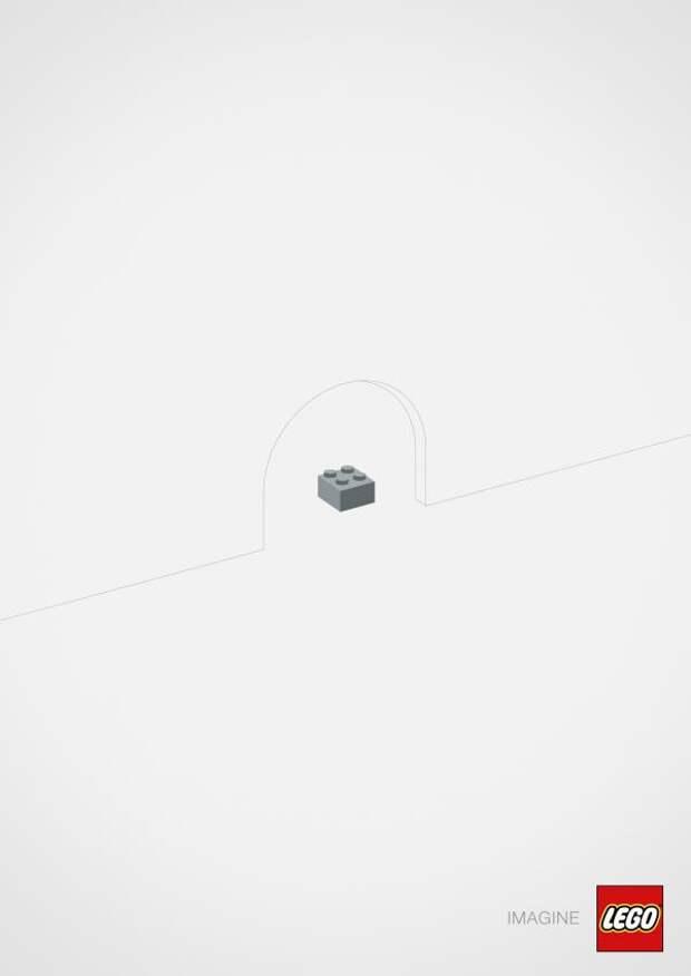 Mouse, LEGO, Brad, LEGO Group, Печатная реклама