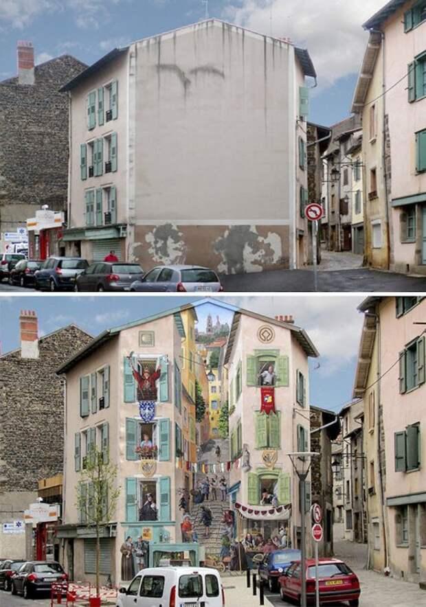 Потрясающий 3D стрит-арт (18 фото)
