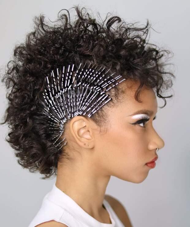 Как быстро уложить короткие волосы фото 24