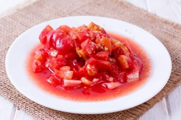 Макароны с помидорами и луком. Этап: 2