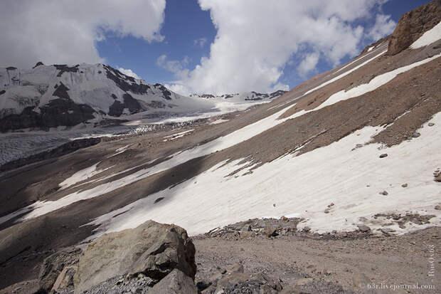 Хождения вокруг Гергетинского ледника и высокогорная церковь