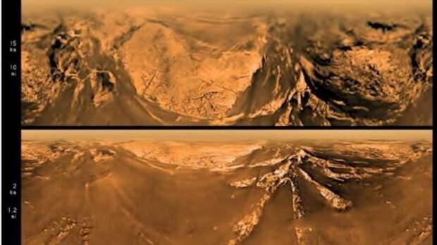Что увидел зонд Гюйгeнc на Титане во время первой посадки (6 фото)