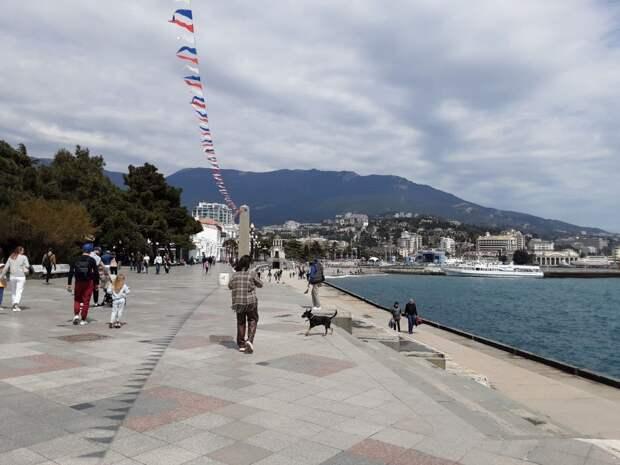 На выходных в Крыму наступит жара