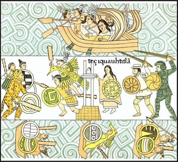 Конкистадоры против ацтеков.Части 5-7