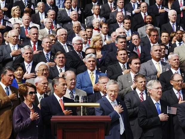 Кривляния американцев – вся суть их общественной практики