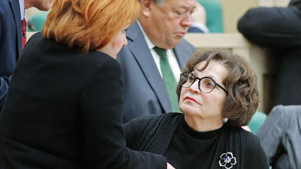 Лахова заявила, что ее слова о ветеранах вырвали из контекста