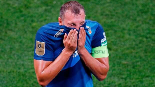 Дзюба: «Матч с «Лацио» — один из последних шансов «Зенита» зацепиться за выход из группы»