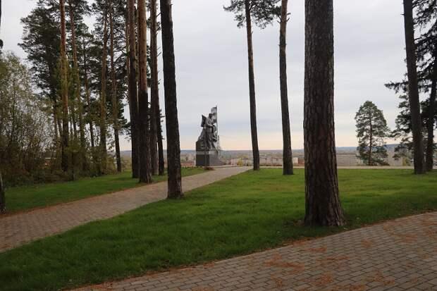 Первый этап реконструкции Ленинского парка завершили в Сарапуле
