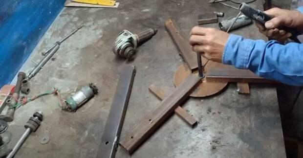 Как сделать маломощный ветрогенератор для дачи