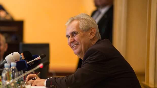 Милош Земан отреагировал на включение Чехии в недружественный список РФ