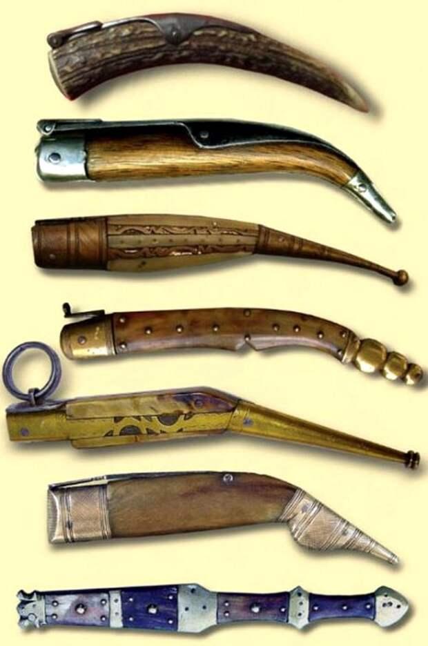 Рукояти навахи также имели приличный ассортимент. /Фото: posuda-gid.ru