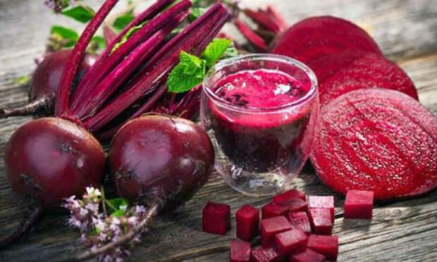 Свекла: овощ помогающий при проблемах с печенью