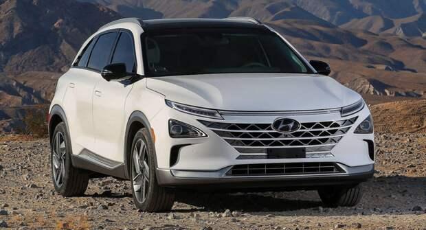 Hyundai снизил цены на свой водородомобиль Nexo